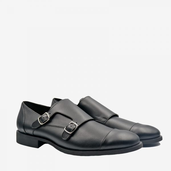 Monk-Nera-scarpa_pelle mela