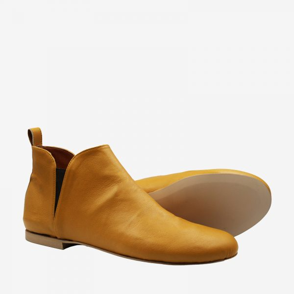 Amada-scarpa-senape_BellaStoria Vegan